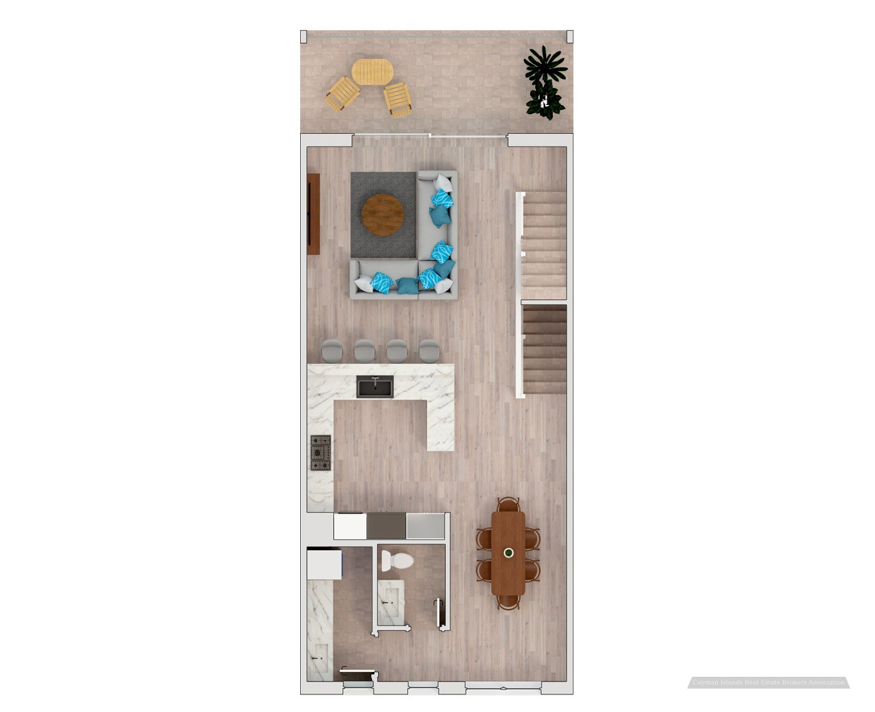 PERIWINKLE WATERFRONT TOWN HOME