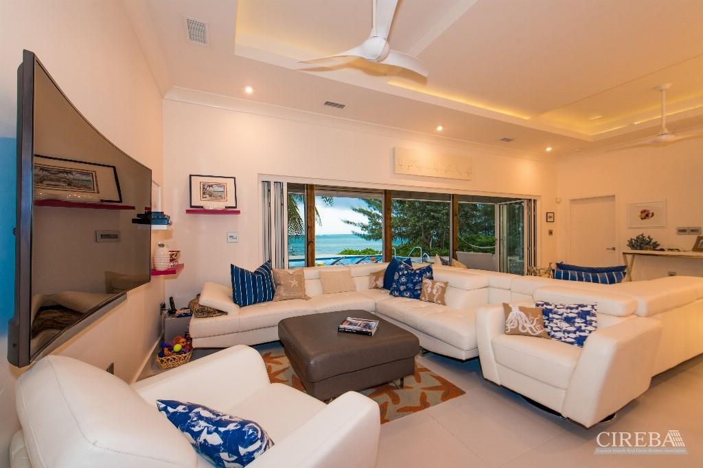 White Cottage Beach Front Estate Home