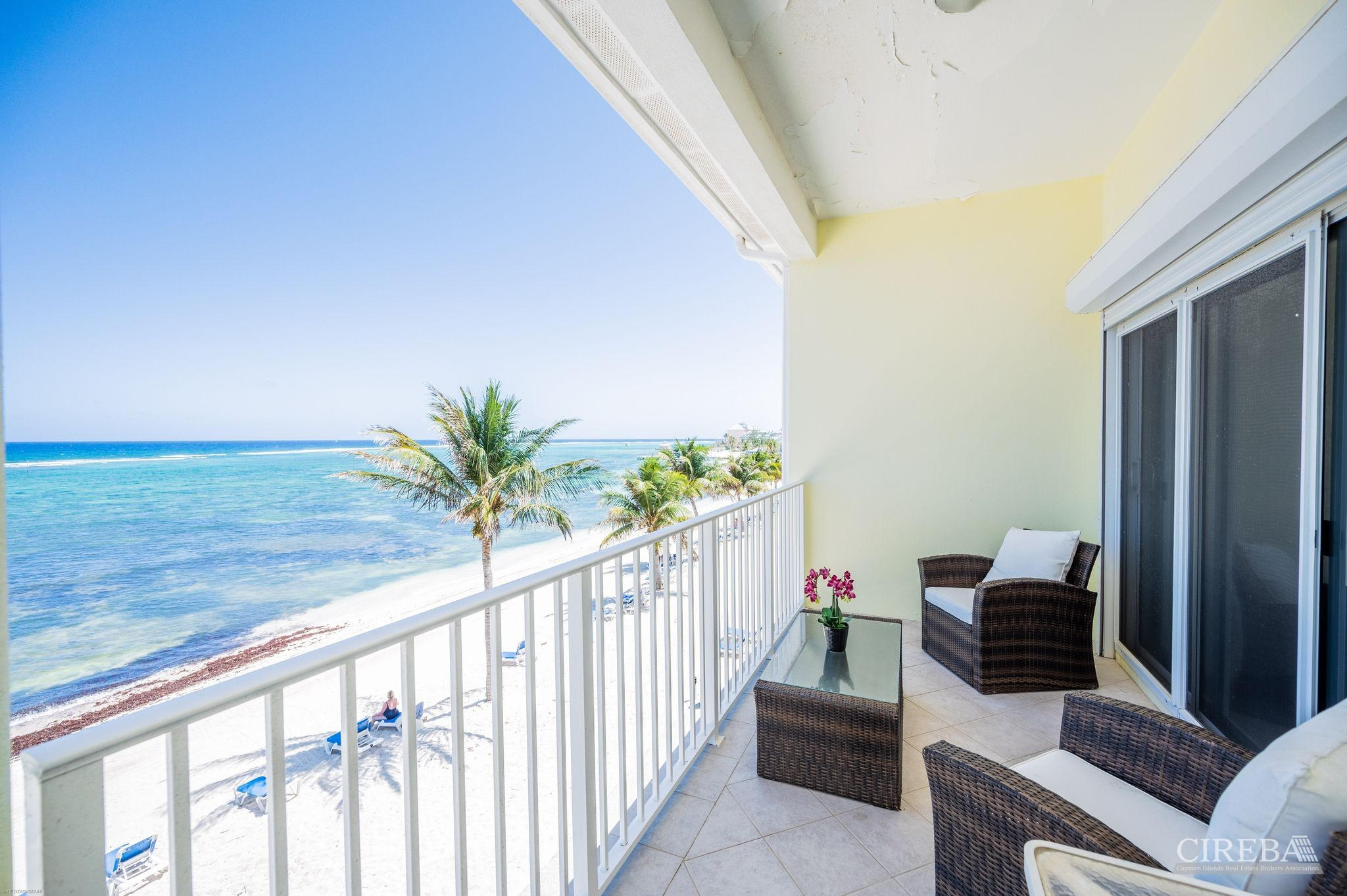 Relax, meditate, or stretch out those Covid blues on your balcony.