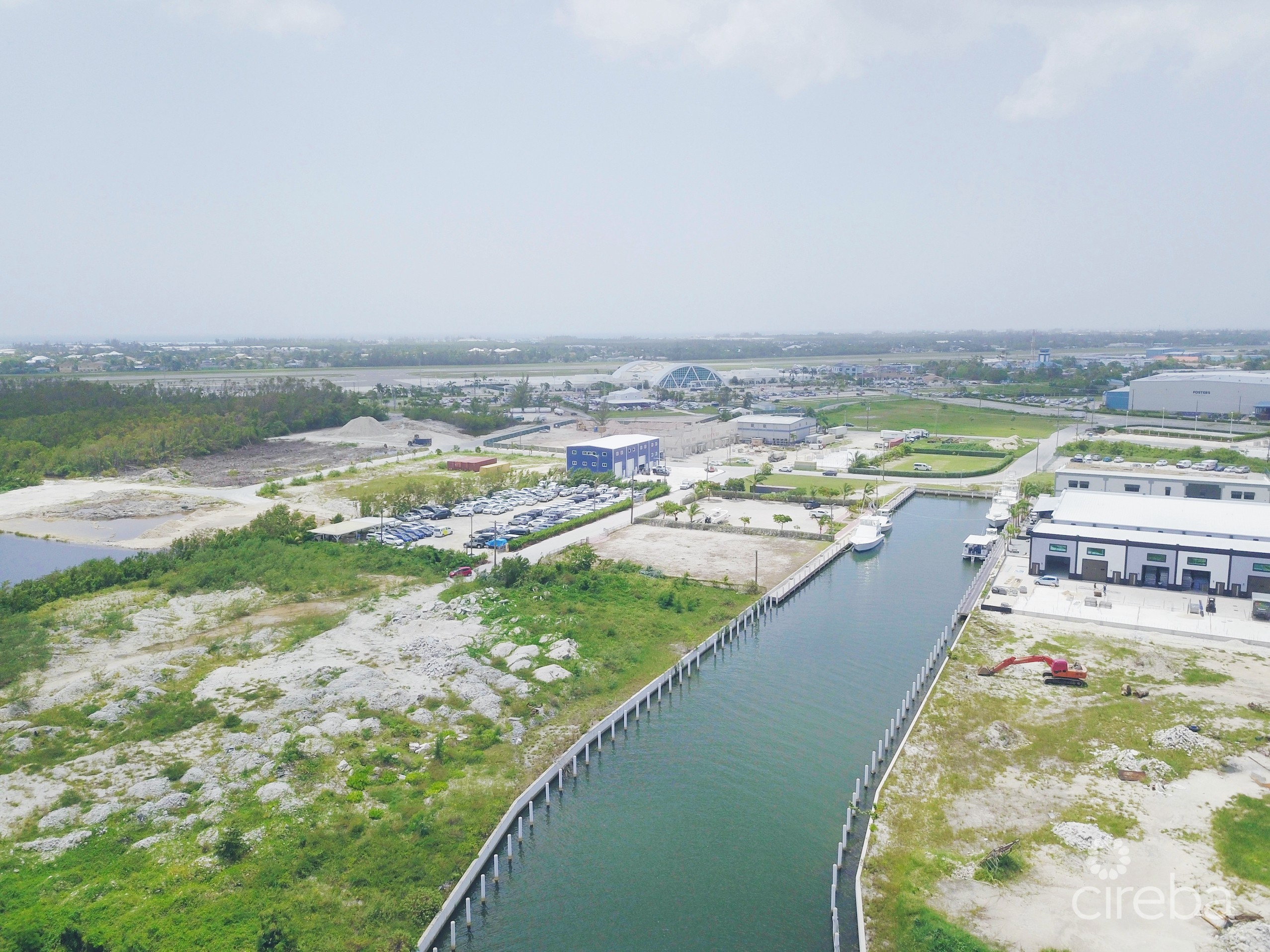 AIRPORT INDUSTRIAL PARK CANAL