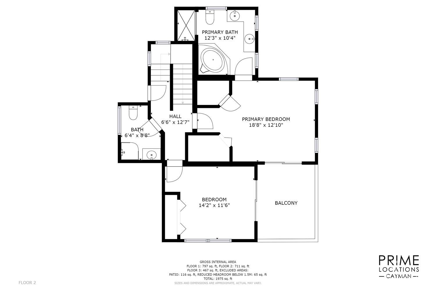 2nd Floor Plans 2 bed/2bath/Laundry