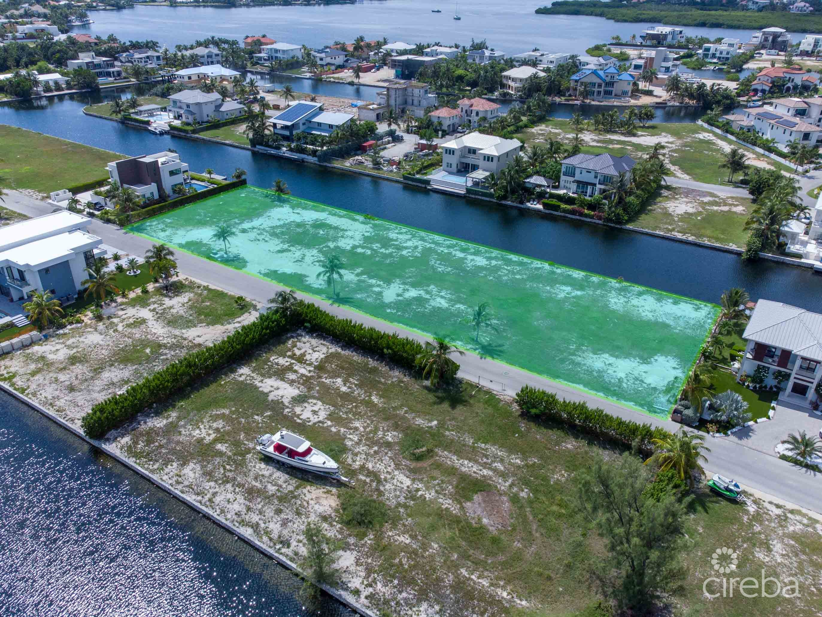 RARE CRYSTAL HARBOUR .86 ACRE PROPERTY